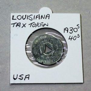 Louisiana Luxury Tax Token – 1