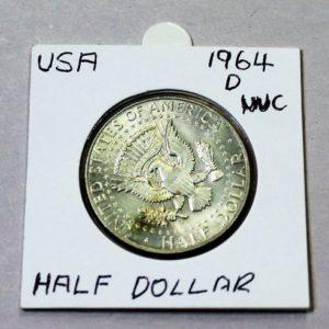 USA Kennedy Half Dollar 1964