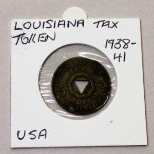 Louisiana Luxury Tax Token – 5