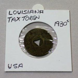 Louisiana Public Welfare Tax Token – 5