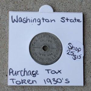 Washington Sales Tax Token