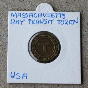 Massachusetts Bay Transit Token