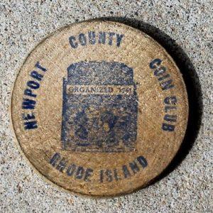 Rhode Island, USA 1966 Coin Show Token