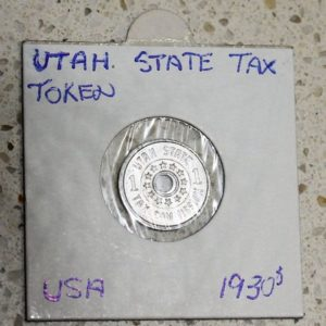 Utah Sales Tax Token – 1