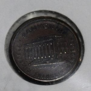 Benjiman Franklin Memorial Souvenier Token & Stamp