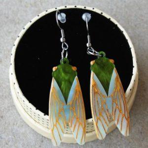 Erstwilder Earrings – Summer Songstress (Cicada)