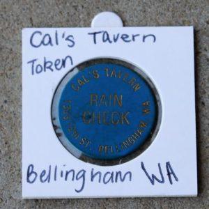 USA Washington – Cal's Tavern Raincheck Token
