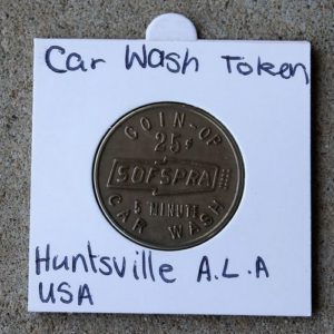 morpeth antiqe centre hunter valley shop 25 robinson ordinance coin car wash huntsvilla A.L.A token america commemorative state usa
