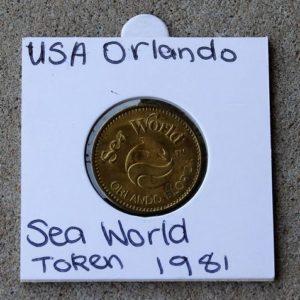 USA Orlando Sea World Token