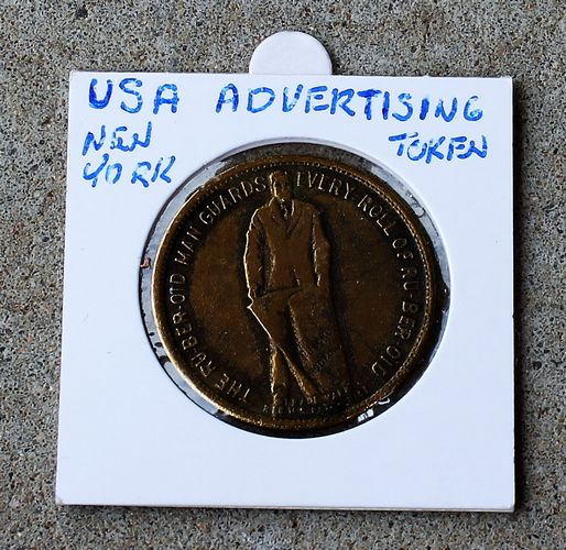 morpeth antique centre hunter valley ruberoid roofing advertising token usa new york