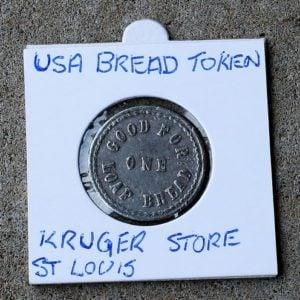 USA Bread Token, Kroger Store, St Louis