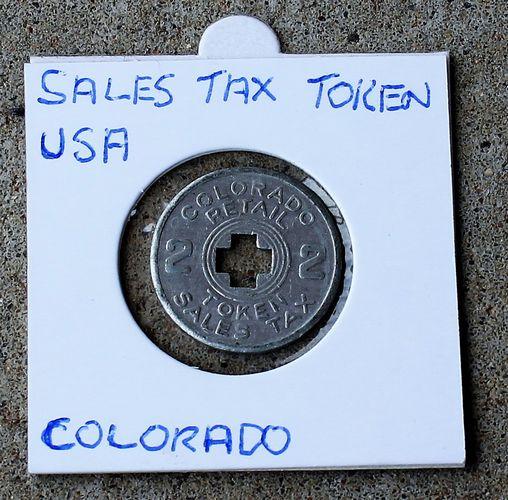 morpeth antique centre hunter valley colorado retail sales tax token two depression 1930's usa american