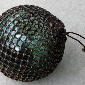 Vintage Glass Fishing Float – nine inch