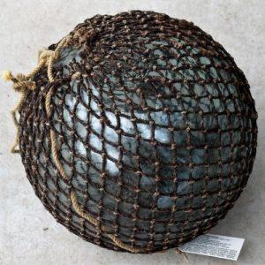 Vintage Glass Fishing Float – nine inch