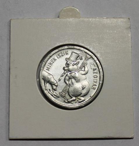morpeth antique centre hunter valley hungarian good luck token coin