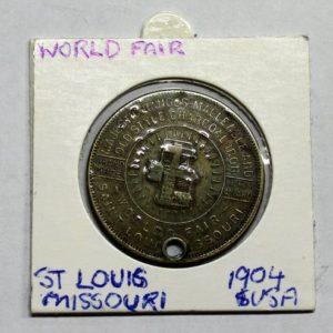 World Fair Good Luck Token, St Louis, USA