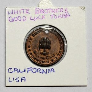 White Brothers Willow Calf Leather Good Luck Token