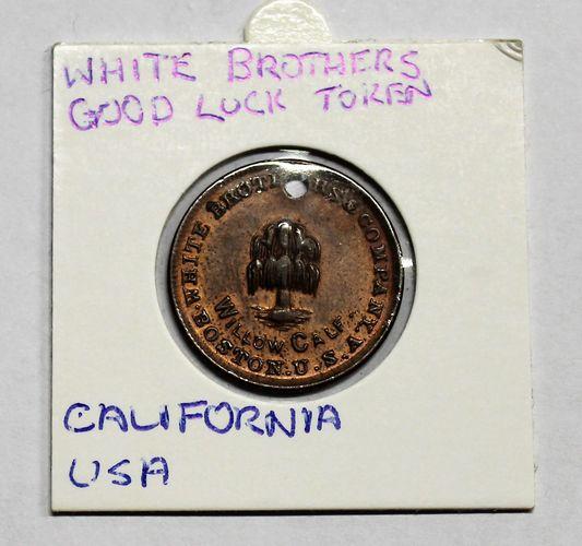 morpeth antique centre hunter valley california usa white brothers good luck boston willow calf token coin