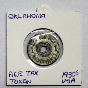 Oklahoma Old Age Assistance Tax Token