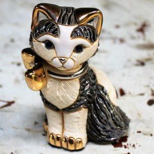 Rinconada Cat with Ribbon R172