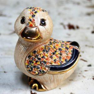Rinconada Figurine – 'Confetti' Duck B04W