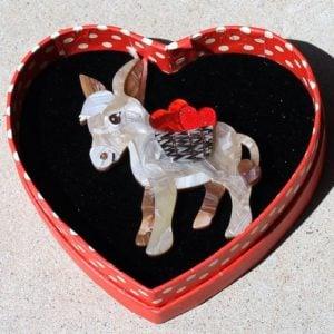 Erstwilder Brooch – Marvellous Murray (Donkey)