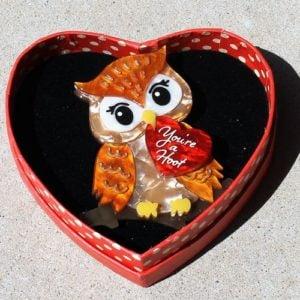 Erstwilder Brooch – You're a Hoot (Owl)