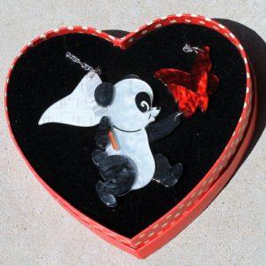 Erstwilder Necklace – What a Catch! (Panda)