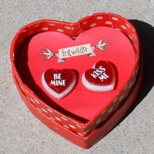 Erstwilder Earrings – Be Mine, Valentine