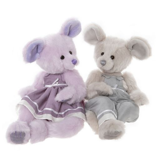 Morpeth Bears Charlie bears plush 2020 Jack and Jill mice mouse