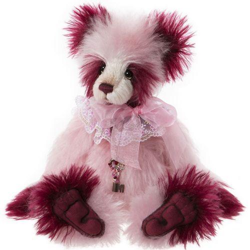 Morpeth Teddy Bears Isabelle Charlie Bear mohair 2020 Summer Pudding