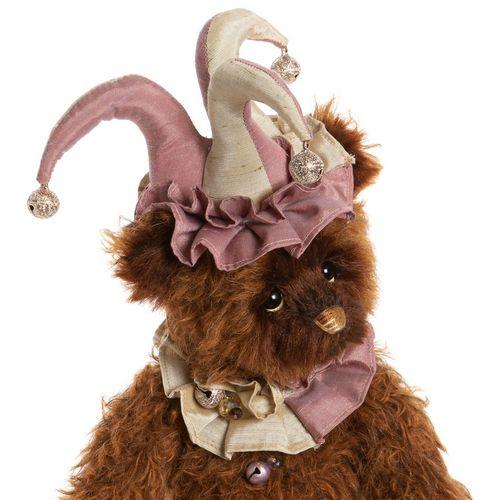 Morpeth Teddy Bears Isabelle Charlie Bear mohair 2020 Tomfoolery jester