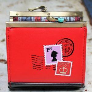 Vendula Post Office Clip Frame Coin Purse