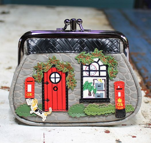 morpeth gift gallery hunter valley vendula london envelope letter air mail zipper post office grab clipper coin cart zip around coin purse pink wallet handbag collectable fashion accessory