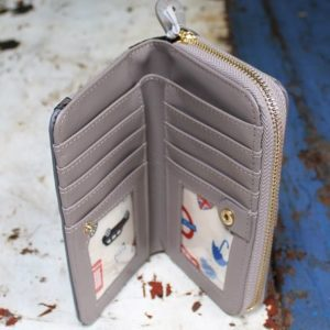 Vendula Post Office Zip Around Wallet Medium