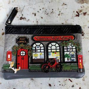 Vendula Post Office Zipper Coin Purse