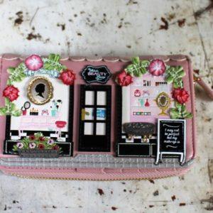 Vendula Beauty Lounge Zip Around Wallet Medium