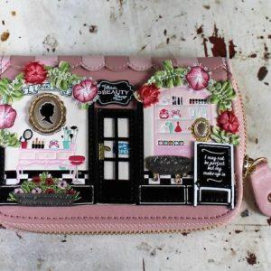 Vendula Beauty Lounge Zip Around Wallet Small