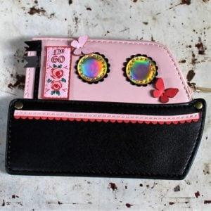 Vendula Love Boat Zipper Coin Purse Pink