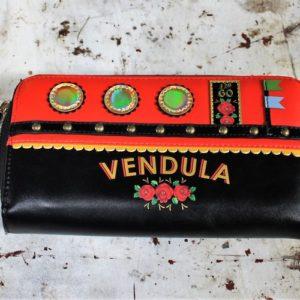 Vendula Love Boat Zip Around Wallet Red