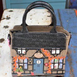 Vendula Winter Cottage Tote Bag