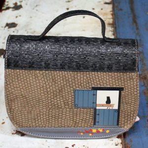 Vendula Winter Cottage Saddle Bag
