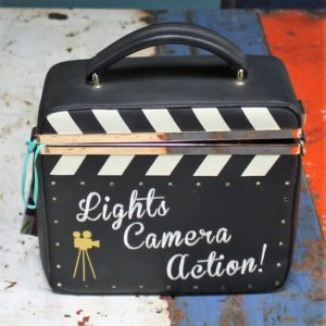 Vendula Cinema Frame Movie Clacket Box Bag