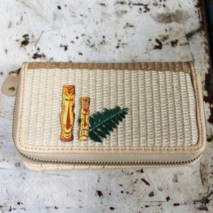 Vendula Tiki Bar Zip Around Wallet Medium