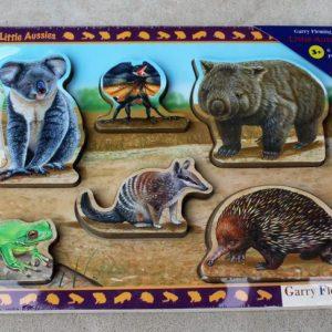 Little Aussies Six Piece Puzzle