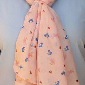 Erstwilder Scarf – Jemima Puddle-Duck (Pink)