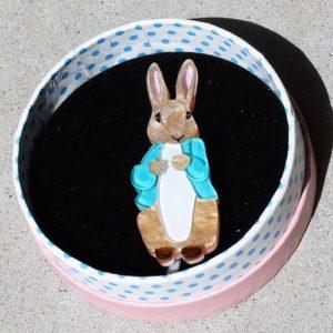 Erstwilder Brooch – Peter Rabbit