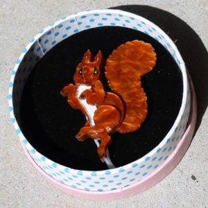 Erstwilder Brooch – Squirrel Nutkin