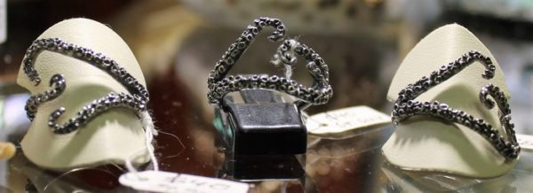 morpeth antique centre hunter valley stick and stone studio octopus adjustable sterling silver rings
