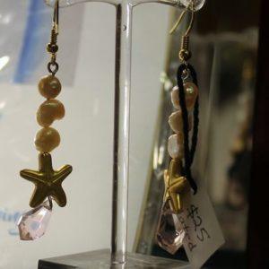 Starfish Drop Earrings